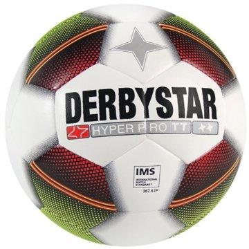 Derby Star FußbälleHyper Pro TT Trainingsball weiß gelb rot weiß