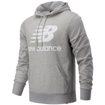 New Balance HoodiesEssentials Stacked Logo Pullover Hoodie -