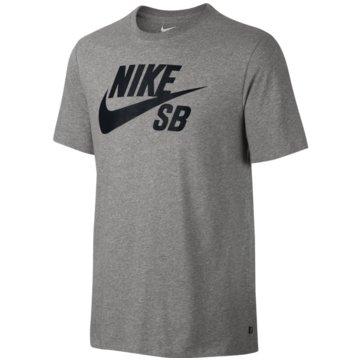 Nike T-ShirtsSB Logo Tee grau