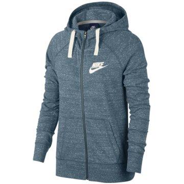 Nike SweatjackenSportswear Gym Vintage Hoodie blau