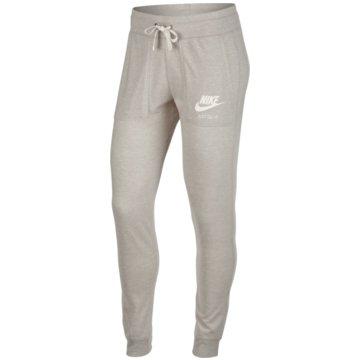 Nike Lange HosenSportswear Gym Vintage Pant Damenhose oatmeal beige