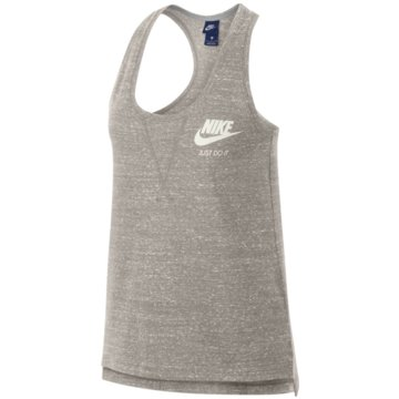 Nike TopsGym Vintage Tank Top Damen oatmeal -