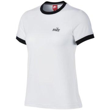 Nike T-ShirtsSportswear Ringer Top weiß