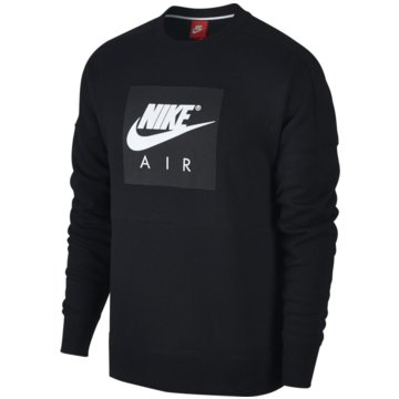 Nike SweaterAir Fleece Crew schwarz