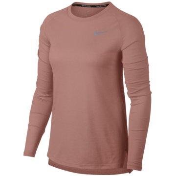Nike HoodiesTailwind Long-Sleeve Running Top lachs