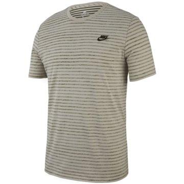 Nike T-ShirtsSportswear Striped T-Shirt beige