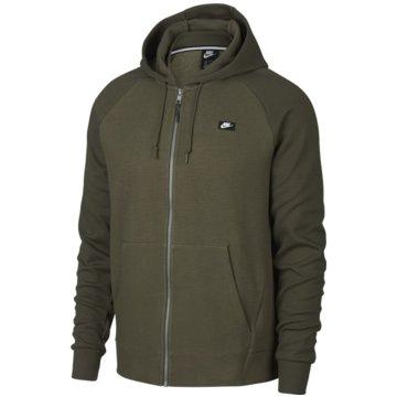 Nike SweatjackenSportswear Optic Fleece Hoodie oliv