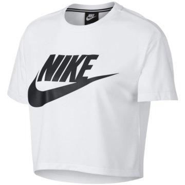 Nike FunktionsshirtsEssential Top Crop SS Women weiß