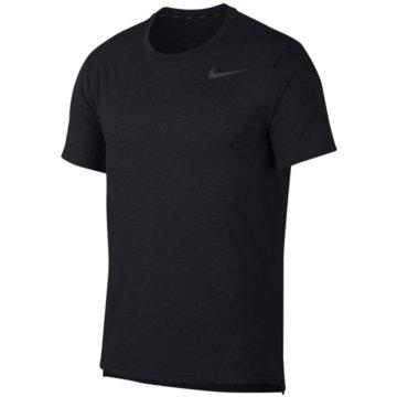 Nike T-ShirtsNIKE DRI-FIT BREATHE MEN'S SHORT-SL - AJ8002 schwarz