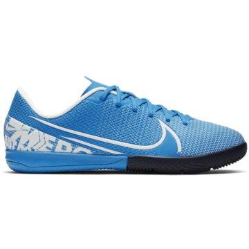 Nike Hallen-SohleJR VAPOR 13 ACADEMY IC blau