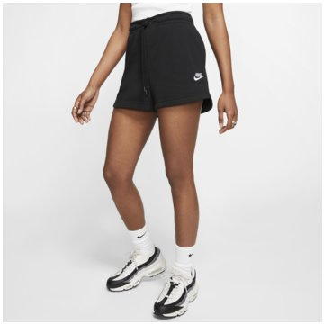 Nike kurze SporthosenNike Sportswear Essential Women's French Terry Shorts - CJ2158-010 schwarz