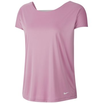 Nike T-ShirtsPRO DRI-FIT WOMEN'S SHORT-SLE lila