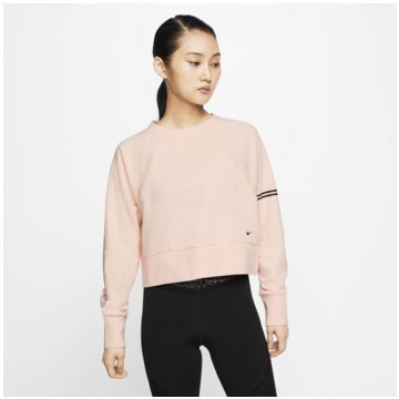 Nike SweatshirtsPro Dri-FIT Rundhalsshirt Women - CJ4227-664 rosa