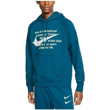 Nike HoodiesNike Sportswear Swoosh Men's French Terry Pullover Hoodie - CJ4863-499 -