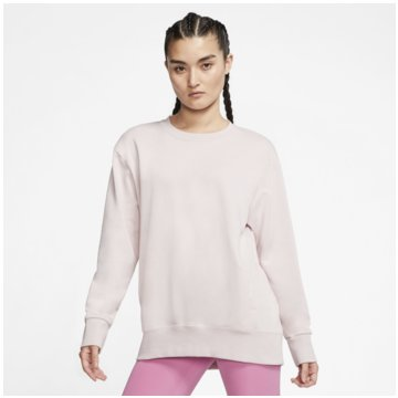 Nike Sweatshirts DRI-FIT GET FIT WOMEN'S FLEEC weiß