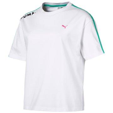Puma FunktionsshirtsChase T-Shirt weiß