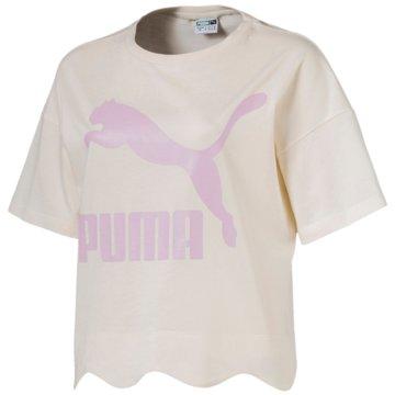 Puma FunktionsshirtsScallop Tee weiß