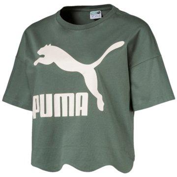 Puma FunktionsshirtsScallop Tee grün