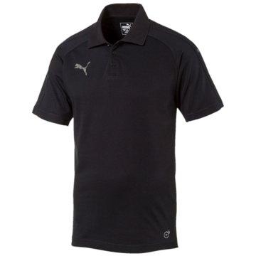 Puma PolosAscension Casuals Poloshirt Herren schwarz schwarz