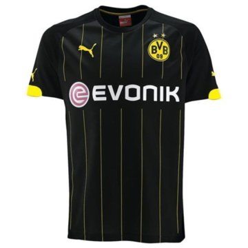 Puma Teamwear & TrikotsätzeBVB Borussia Dortmund Away Trikot Kinder 2014/2015 schwarz schwarz