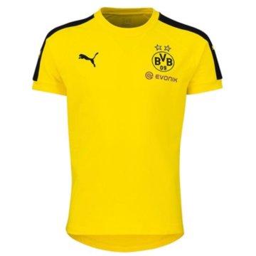 Puma Teamwear & TrikotsätzeBVB Borussia Dortmund Casuals Performance Tee Kinder T-Shirt gelb gelb