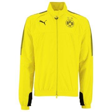 Puma ÜbergangsjackenBVB Borussia Dortmund Stadium Herren Jacke gelb -