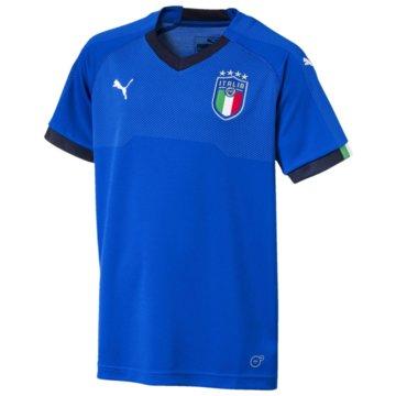 Puma Fan-TrikotsItalien Heimtrikot Kinder Home Jersey WM 2018 blau -