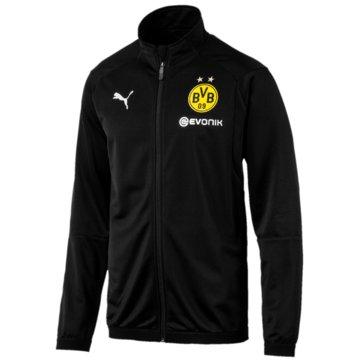 Puma FanartikelBorussia Dortmund Poly Jacket schwarz