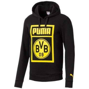 Puma HoodiesBorussia Dortmund Shoe Tag Hoody schwarz