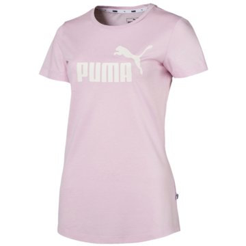 Puma T-ShirtsEssentials Logo Heather Tee rosa