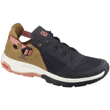 Salomon Sneaker LowSchuhe TECH AMPHIB 4 W Bk/Bistre/Ta -