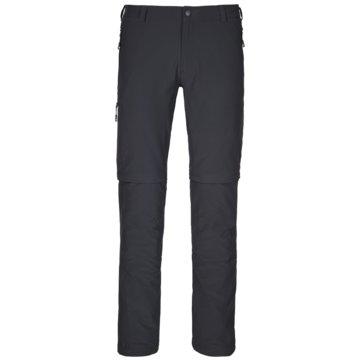 Schöffel Lange HosenPants Koper Zip Off Herren Outdoorhose charcoal schwarz