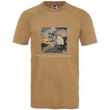 The North Face T-ShirtsM S/S RAGLAN REDBOX TEE -