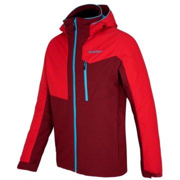 Ziener SkijackenPARON man (jacket ski) rot