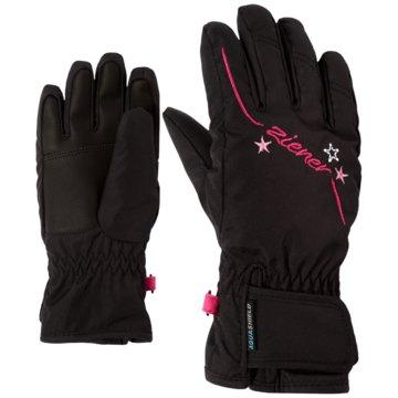 Ziener FingerhandschuheLULA AS(R) GIRLS GLOVE JUNIOR - 801942 schwarz