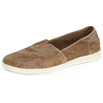 Natural World Eco Sportlicher Slipper beige