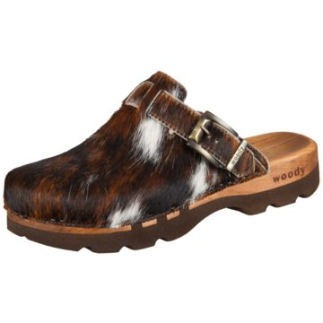 Woody Clog braun