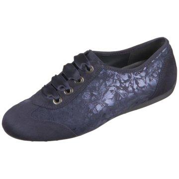 Semler Komfort Schnürschuh blau