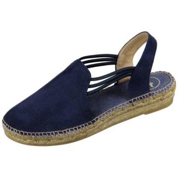 Toni Pons Espadrilles Sandaletten blau