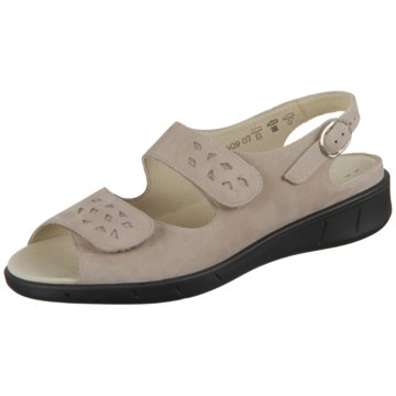 Solidus Komfort Sandale beige