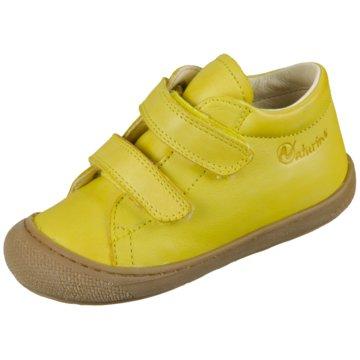 Naturino Klettschuh gelb