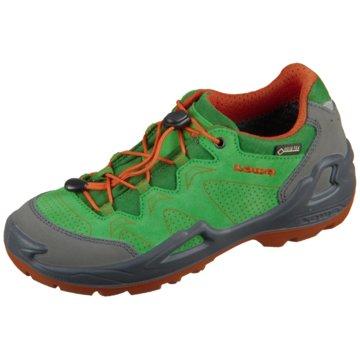 LOWA Sportlicher Schnürschuh grün