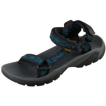 Teva Outdoor Schuh schwarz