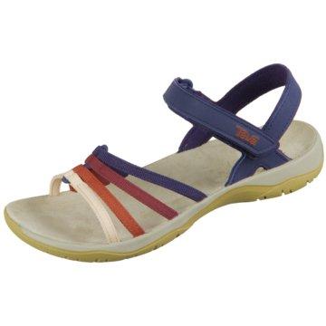 Teva Komfort Sandale blau
