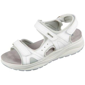 Igi&Co Komfort Sandale weiß