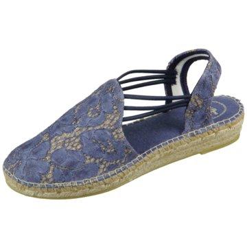 Toni Pons Espadrilles Sandalen blau