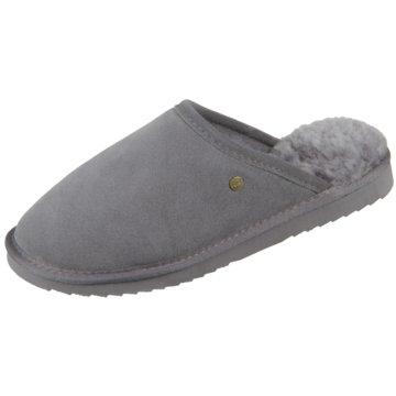 Warmbat HausschuhPantolette grau