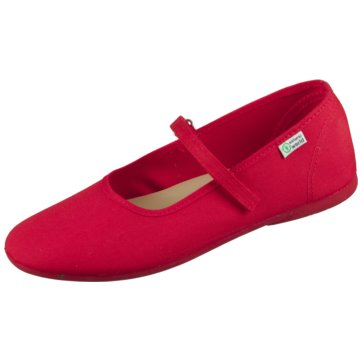 Natural World Eco Halbschuhe rot