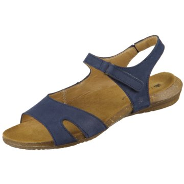 El Naturalista Komfort Sandale blau