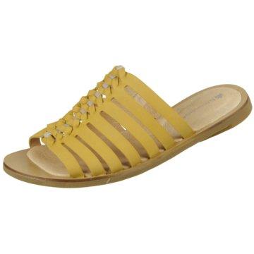 El Naturalista Komfort Pantolette gelb